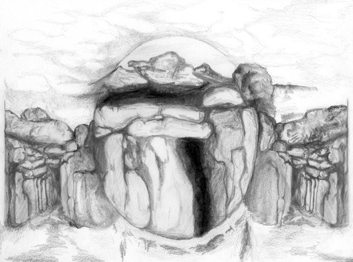 Rock Cave Triptych II