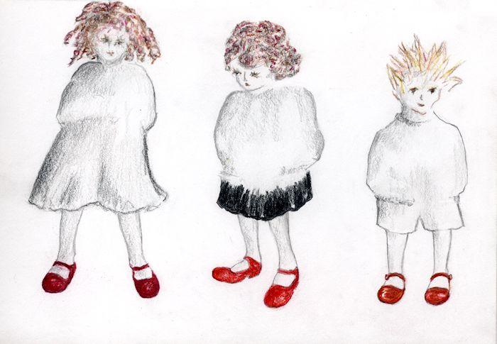 Siblings Red