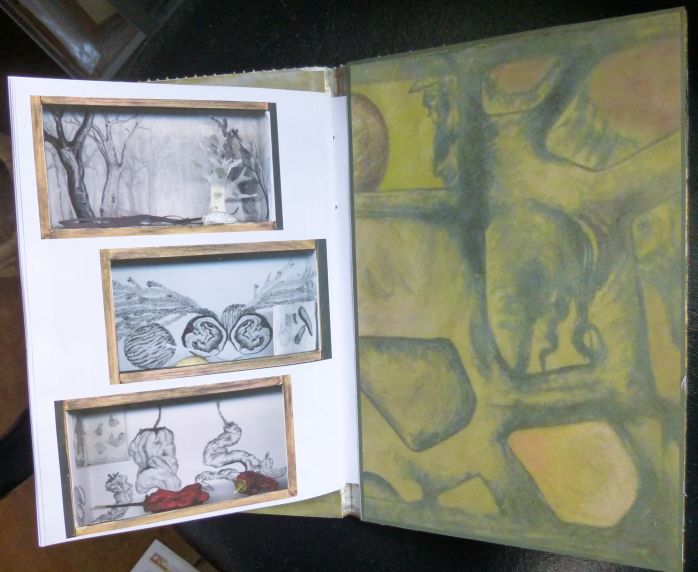 Sketchbook 2012 endpages