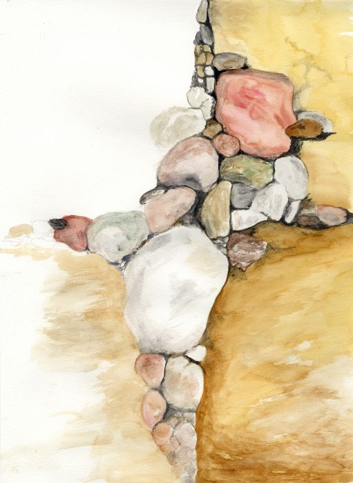 Watercolor Fun with Rocks Scan 1