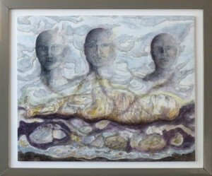 Ancestors V III framed