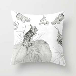 Vegetable Bounty pillow