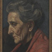 Agnes Wylie Sivell mother portrait by the son