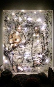 Grandparents lit box