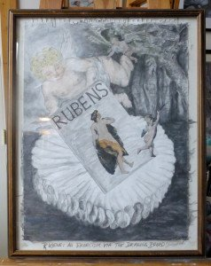 Rubens an Exorcism via the Drawing Board framed pic 1